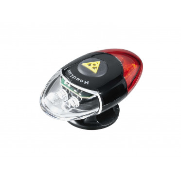 Topleak - Headlux -Double sided helmet light