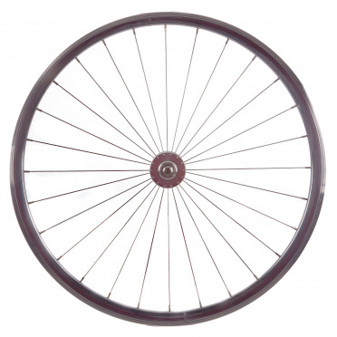 BeastyBike - B30 Chrome - Spoke wheel