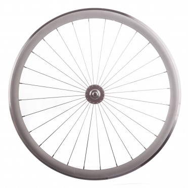 BeastyBike - B40 Silver - Spoke wheel