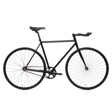 State Bicycle - Matt Black 6 - Fixie / Singlespeed