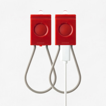 Bookman - USB - Red Front / Back lamp