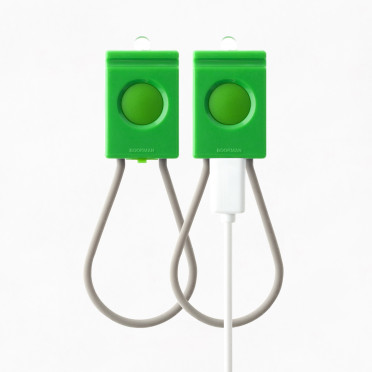 Bookman - USB - Green Front / Back lamp