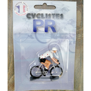 Roger Cyclist figurines - Polka dot jersey