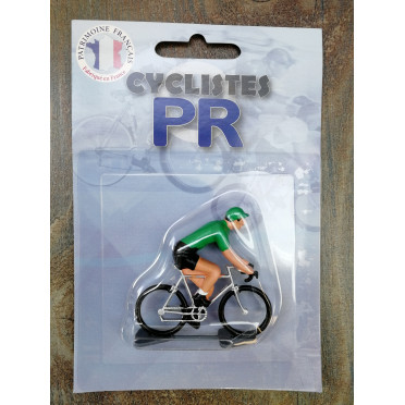 Roger Cyclist figurines - Green jersey