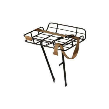 Front luggage rack BASIL Portand Matt Black