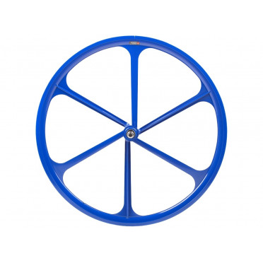 6 Spoke Wheel Blue