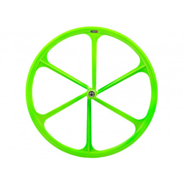 6 Spoke Wheel Green