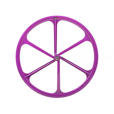 6 Spoke Wheel Purple