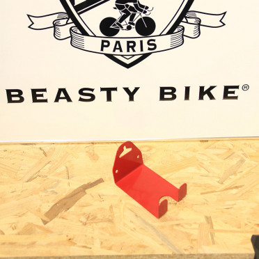 Pedal Wall mount bike hanger