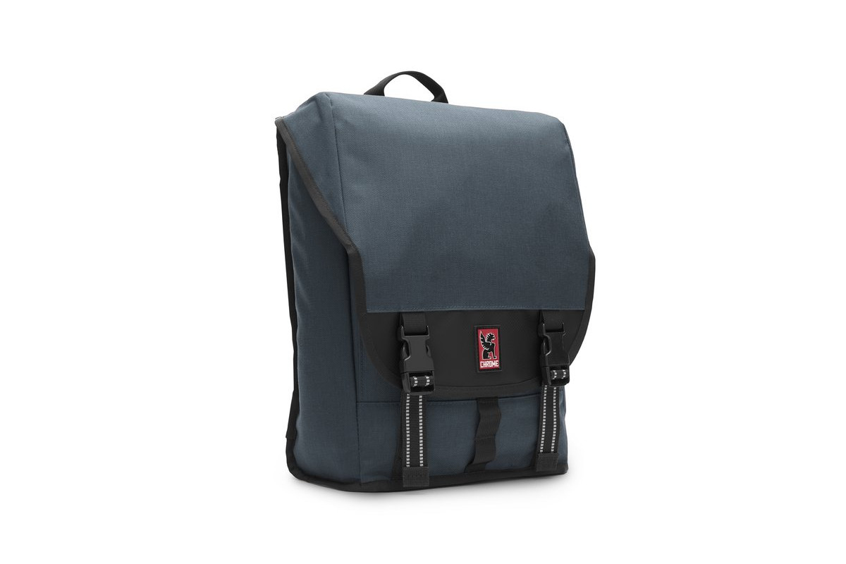 CHROME Soma Two-Strap Black Backpack