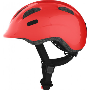 ABUS - Smiley 2.0 Sparpkling Red - Kids Bike Helmet