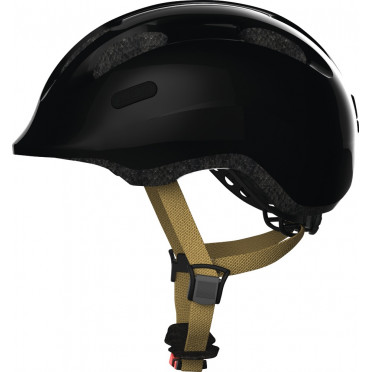 ABUS - Smiley 2.0 Royal Black - Kids Bike Helmet