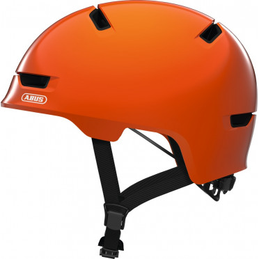 ABUS - Scraper 3.0 Shiny Orange - Kids Bike Helmet