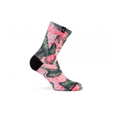 PACIFIC & CO - Boa Vista Pink - Women Cycling Socks