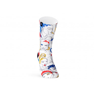 PACIFIC & CO - Street Faces - Cycling Socks