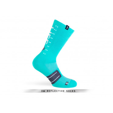 PACIFIC & CO - Speed / Slow Life (Turquoise) - Cycling Socks