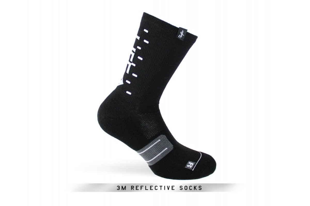 PACIFIC & CO - Speed / Slow Life (Black) - Cycling Socks