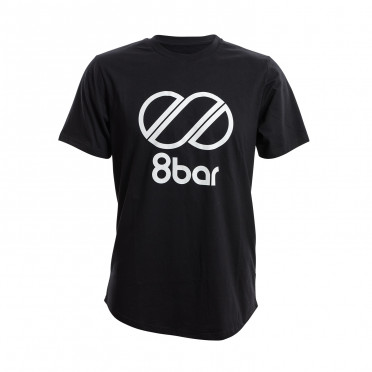 8BAR Logo - T-Shirt - Black