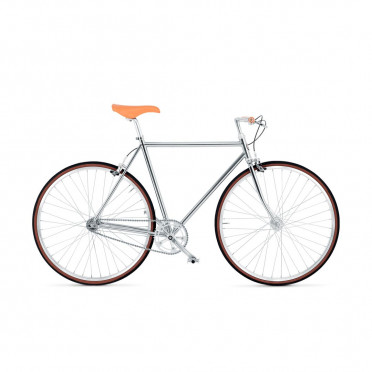 BIKEID - Diamond 1 - Chrome - Fixed Gear Bike