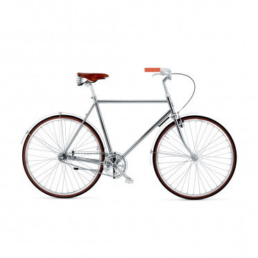 BIKEID - Majestic 1 - Chrome - Fixed Gear Bike
