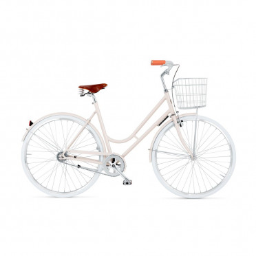 BIKEID - Step Through 2 - Beige - City Bike