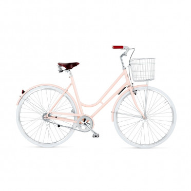 BIKEID - Step Through 2 - Pink - City Bike