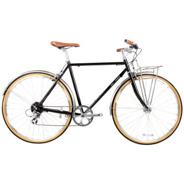 BLB - Beettle 8SPD - Black - Town Bike
