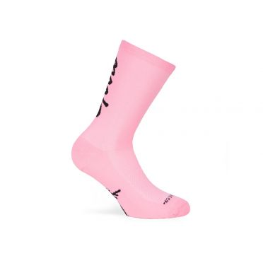 PACIFIC & CO - Good Vibes - Pink- Cycling Socks