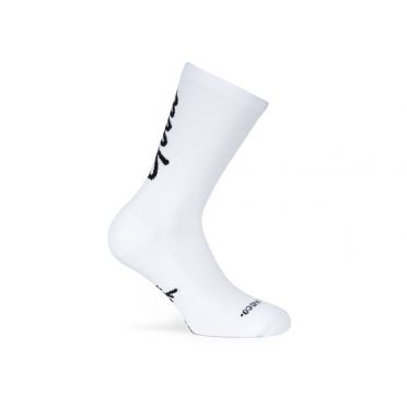 PACIFIC & CO - Good Vibes - White - Cycling Socks