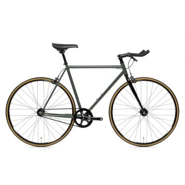 State Bicycle - Army Green - 4130 - Fixed Gear Bike