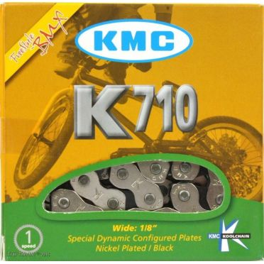 "Chaine fixie KMC K710 Kool Series 1/2 X 1/8 "" 100 Maillons"
