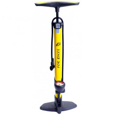 P&A - Color Mano Steel Yellow - FOOT PUMP
