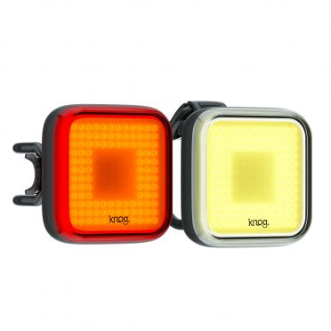 Knog - Blinder Square - Bike Lights Twinpack