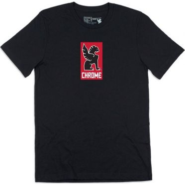 Chrome - Lock Up T-Shirt - Black