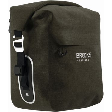 BROOKS SCAPE PANNIER - SMALL (10-13L) - MUD GREEN