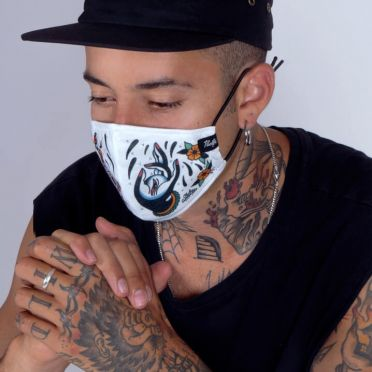 Pacific & Co. - Skull Face Mask