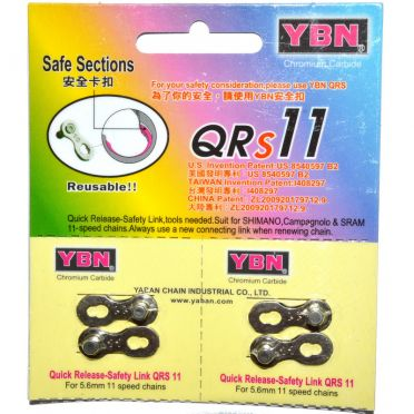 YBN - Pair of quick link for 11 speed bike chain