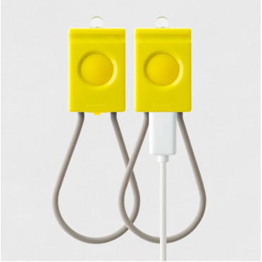 Bookman - USB - Yellow Front / Back lamp